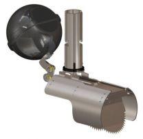 Nordisk Innovation rottespærre 160mm, TX11-FLOW (147-151mm) m. tvangsåbner, AISI316 rustfrit stål
