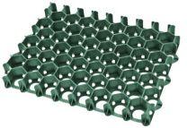 Græsarmering flise 500x390x45mm grøn HDPE. 5 stk/m2.