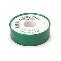 Unipak Jumbo gevindtape 19mm 100% Teflon. t/dampanlæg