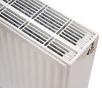 NY C4 radiator 33 - 900 x 3000 mm. RAL 9016. Hvid