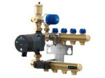 Wavin Midishunt 8 kredse med Alpha 2L 15-40 pumpe