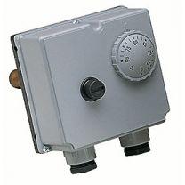 Danfoss dobbelt termostat inkl. 1/2 dyklomme