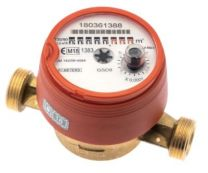 B-meters husvandmåler GSD8-RFM, Q3=2,5 (QN1,5)L-110, DN15, 3/4''RG R100 (vertikal R50), tørløber, varmt vand til 90°