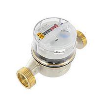Sensus Residia Jet husvandmåler Q3=2.5 (QN1,5), L-130, DN 20, 1''RG. R40. Tørløber. Til varmt vand 90°, messing
