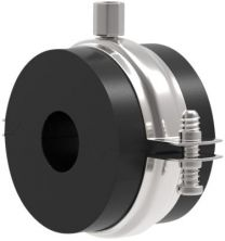 Isoglobal rørbærer RF 168 x 32 mm. M8/M10 inkl. Galv. HD bøjle. Til køl.
