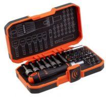 Bahco bitssæt 36 dele med bits, bolt bits og leveres inkl. skralde-skruetrækker