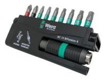 Wera bitsæt 10 dele TX10,TX15,3xTX20,TX25,TX30,PH2,PZ2 & 1 holder - 8757-9/BTZ