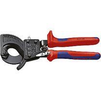Knipex kabelskærer/saks 9531-250 med skraldefunktion, max. Kapac.Ø32mm