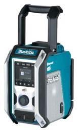 Makita arbejdsradio 7,2-18V DMR115, Bluetooth & DAB+, uden batteri inkl. adaptor