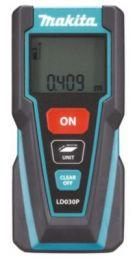 Makita laserafstandsmåler LD030P, max 30m, til længde & arealberegning, inkl. batt.