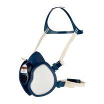3M halvmaske 4255+ Vedligeholdelsesfri med indbyggede filtre
