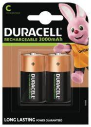 Duracell Ultra batteri C 3000mAh, genopladeligt, pakke a 2 stk