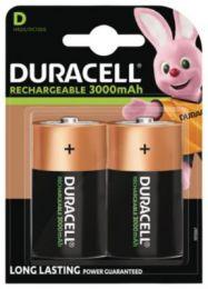 Duracell Ultra batteri D 3000mAh, genopladeligt, pakke a 2 stk