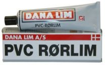 Dana Lim PVC rørlim 309 transparent - 150 ml