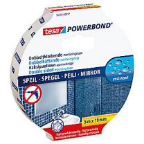 tesa Powerbond monteringstape Spejl 5 m x 19 mm