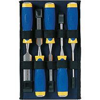 Stemmejernssæt MS500 5 dele 6/10/16/20/26 mm, i taske, tokomponent, Irwin 10503876