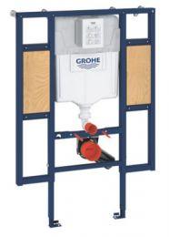 GROHE Rapid SL indbygningscisterne 1130x900mm, med beslag til ryg- & armstøtte