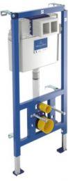 V&B ViConnect indbygningscisterne 4,5/6ltr/1170x160x575mm blå