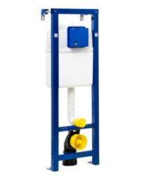 Gustavsberg Triomont XS indbygningscisterne til hængetoilet 1140x390x140mm 3/6ltr
