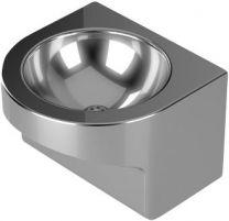 Purus Håndvask Ø300mm vægmontering V216 afløbsrør Ø40mm rustfri/syrefast
