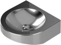 Purus Håndvask Ø300mm vægmontering V219 afløbsrør Ø32mm rustfri/syrefast