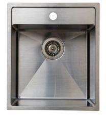 Juvel Intra køkkenvask til nedfældning udv. Mål 430x500 mm. BALTIC400THF