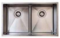 Juvel Intra køkkenvask til nedfældning udv. Mål 745x440 mm. BALTIC745DF-LW