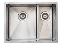 Juvel Intra køkkenvask til nedfældning udv. Mål 585x440 mm. BALTIC585SHLF-LW