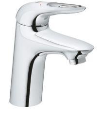 GROHE Eurostyle håndvaskarmatur str.S, EcoJoy 5,7L. Med push-up bundventil. Krom