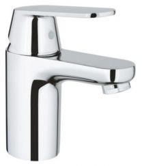 GROHE Eurosmart Cosmo håndvaskarmatur str.S, EcoJoy 5,7L. Med push-up bundventil