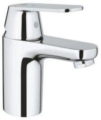 GROHE Eurosmart Cosmo håndvaskarmatur, str.S, EcoJoy 5,7L. Med push-up bundventil, Koldstart