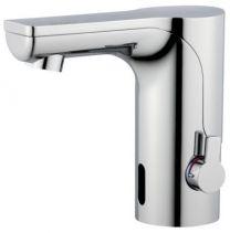 Mora mmix tronic berøringsfrit håndvaskarmatur med temperaturgreb til netdrift ex. transformator