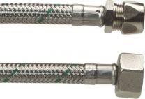 Neoperl softpex tilslutningsslange 200 mm. 10 mm x 1/2 L. Rustfri flet. Koldt & varmt vand. NEOFLEXSPX DN8