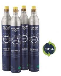 GROHE Pant på CO2 flaske 4 stk. Blue Genopfyldningssæt 425 g CO2 Flasker