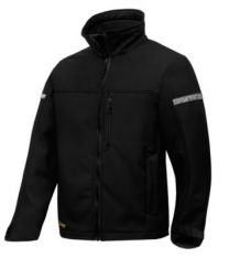 Snickers Softshell jakke AllroundWork 1200 sort str. M